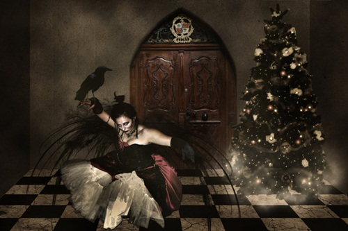 Her_own_dark_Christmas_by_silvertwilights
